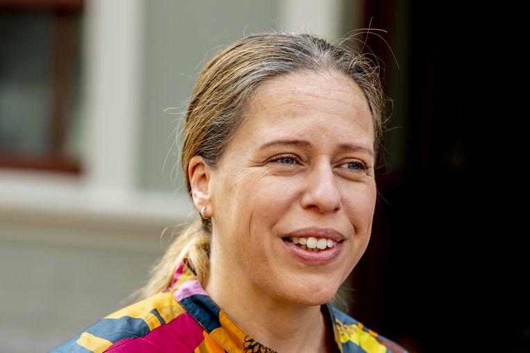 Demissionair minister Carola Schouten van landbouw. Beeld ANP