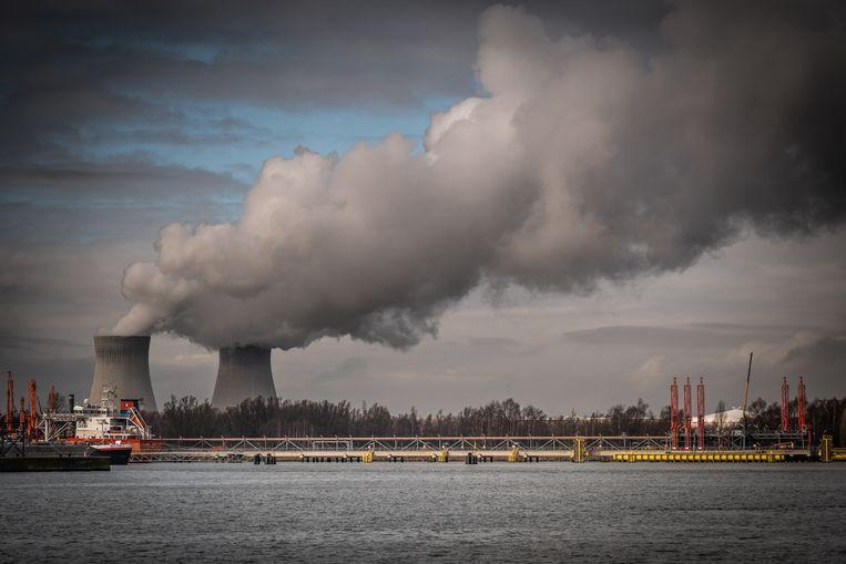 De kerncentrale van Doel. Beeld © Bart Leye
