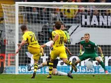 Bosz ziet kwetsbaar Dortmund zege bij Frankfurt weggeven