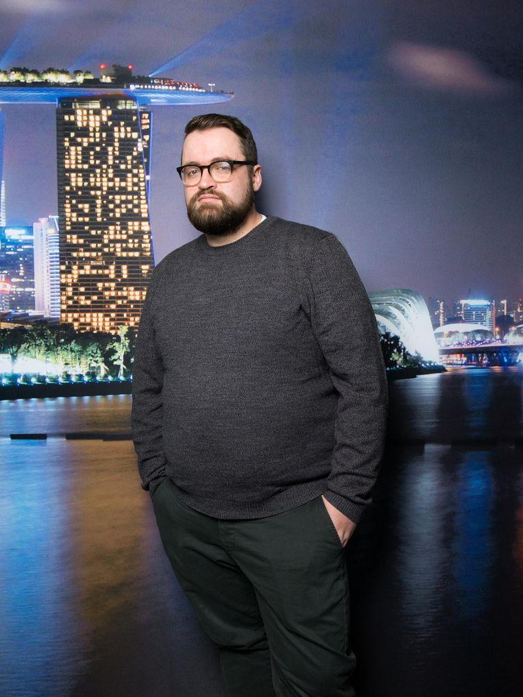 Stuart Frisby, director of design (nationaliteit:¿Brits). Beeld Ivo van der Bent