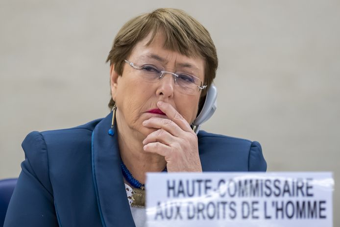 Michelle Bachelet.