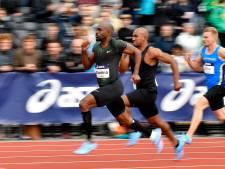 Estafettemannen lopen Nederlands record op 4x100 meter