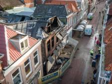René probeerde verwoestend vuur in hartje Steenwijk nog te blussen: 'Tot het plafond naar beneden kwam'