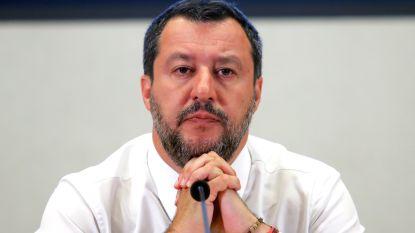 Salvini zegt dat hij politie hielp bij vondst van oorlogswapens bij rechts-extremisten
