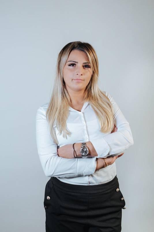 Hélène Karaman, élue meilleure coiffeuse de Belgique et du Luxembourg.