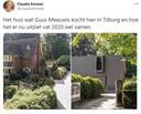 Deze tweet over het nieuwe huis van Guus Meeuwis gaat momenteel viral