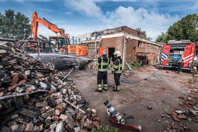 De brand die half augustus in Boxmeer twee gymzalen van middelbare school Metameer verwoestte, was nabij Invitare-basisschool De Bonckert.