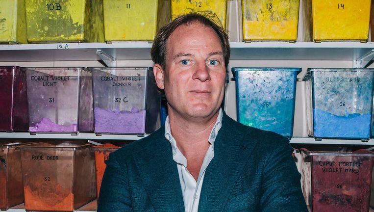 'Je wilt mee met de ontwikkelingen in de kunst, maar tegelijkertijd wil je heel voorzichtig zijn met de reputatie van Old Holland.' Beeld Marcel Wogram