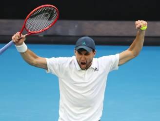 Het sprookje duurt voort: Rus Karatsev staat bij grandslamdebuut in achtste finales van Australian Open