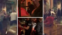 Totale chaos: bokskampioenen schelden elkaar de huid vol in restaurant, enkele tellen later wanen perplexe gasten zich in knotsgekke actiefilm