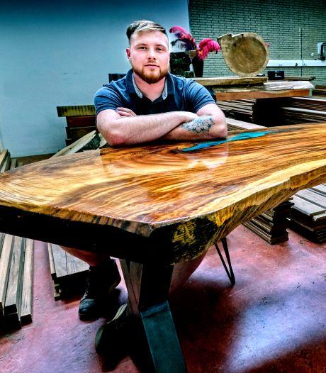 Rick maakt alles van hout voor in huis: 'Misschien ben ik een tikje bevooroordeeld, maar mooi man, dat hout'
