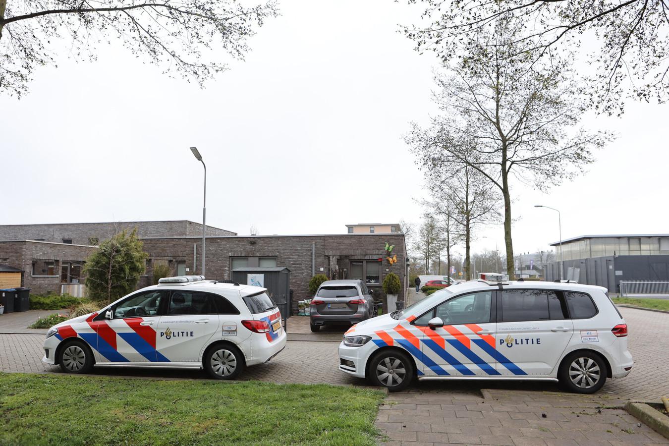 Woningoverval op de Weddestede in Den Bosch mislukt.