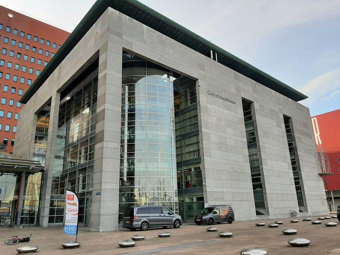 Het gerechtsgebouw in Rotterdam.