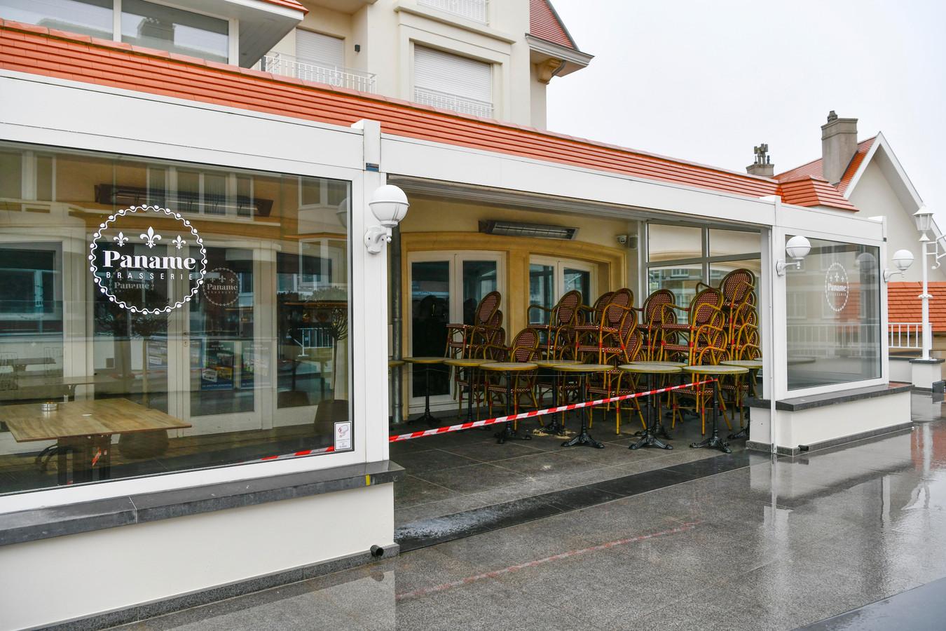 Restaurant fermé au Coq.