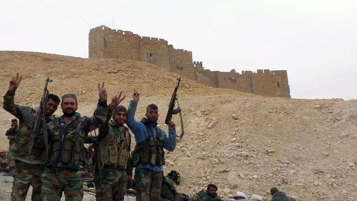 Het Syrische leger heeft de historische stad Palmyra heroverd.