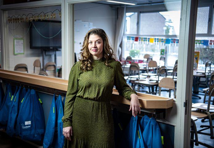 Schooldirecteur Michelle Evers wil ouders geruststellen: 'Het komt goed met de kinderen, het is al goed.'