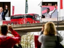 Fotoreeks: Ajax-helden terug in Amsterdam