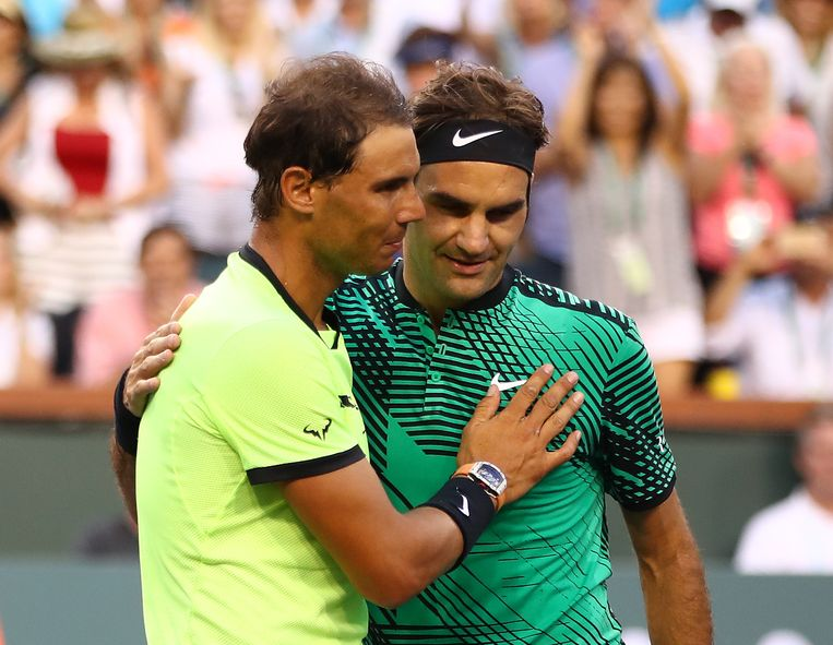 Krijgen we een US Open zonder Rafael Nadal en Roger Federer? Beeld AFP