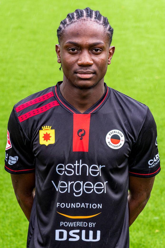 Modeste Duku is de tweede aanwinst van Excelsior en is per direct toegevoegd aan de selectie van de Rotterdamse eerstedivisionist.