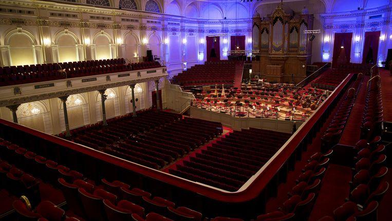 De Grote Zaal van het Concertgebouw Beeld anp