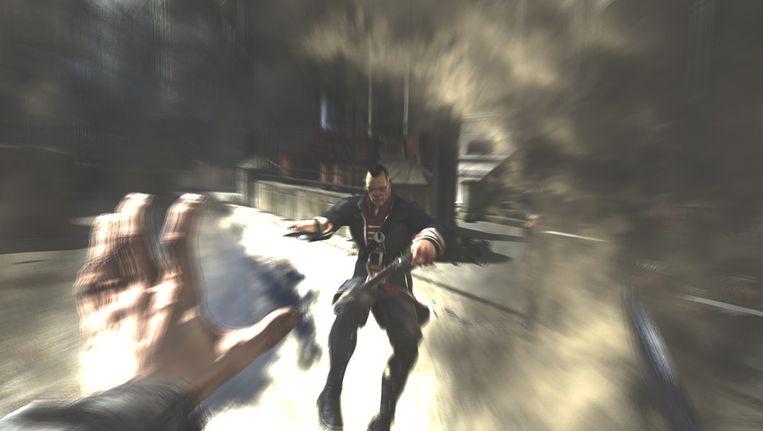 In 'Dishonored' kan je bovennatuurlijke aanvallen gebruiken. Beeld UNKNOWN