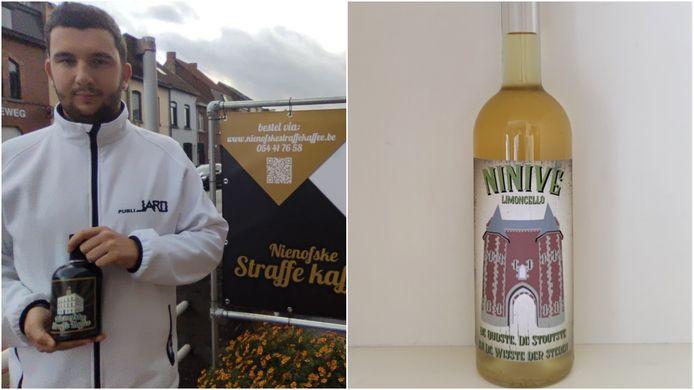Na het succes van de Nienofske Straffe Kaffee komt Jaro nu met de Ninive Limocello.