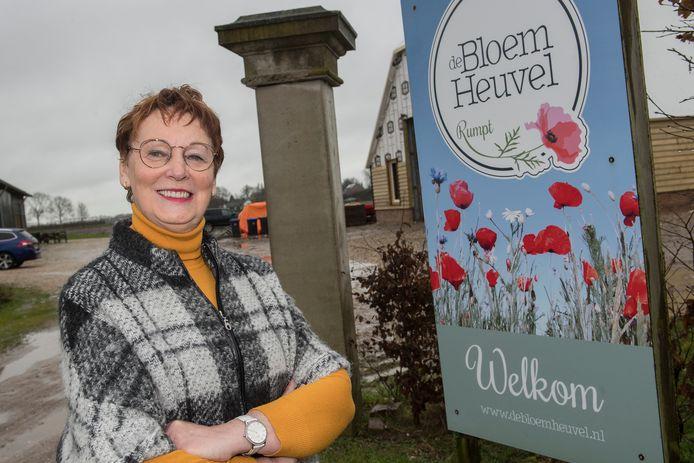 Gerda van Ooyen is vrijwilliger bij Zorgboerderij de Bloemheuvel in het West Betuwse Rumpt.