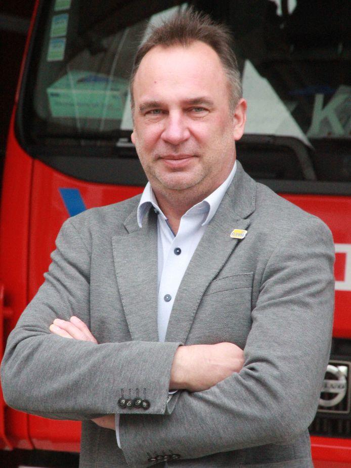 Voorzitter van de zone Francis Benoit (CD&V)