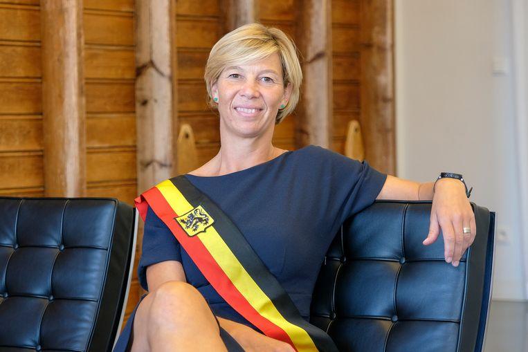 Inge Lenseclaes zal de sjerp ook de komende zes jaar mogen dragen.