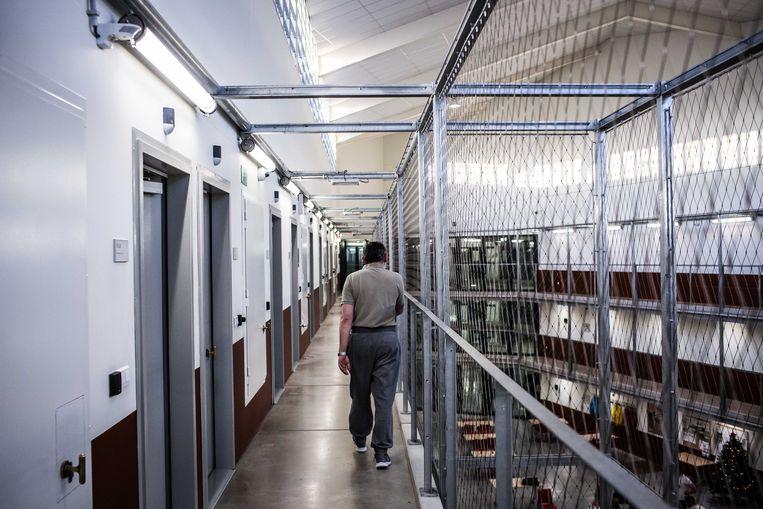 De penitentiaire inrichting van Beveren. Beeld Bas Bogaerts