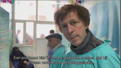 """VTM NIEUWS-journalist Robin Ramaekers bezoekt ziekenhuis in Jemen: """"Schrijnend"""""""