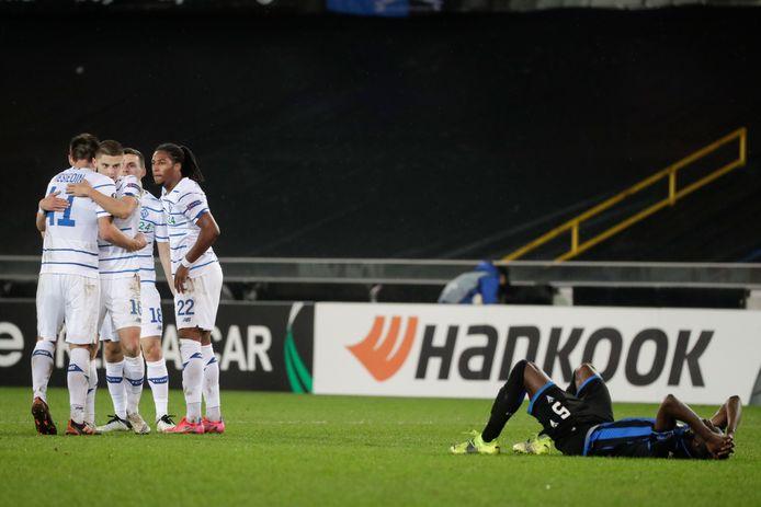 Dyanmo Kiev schakelde Club Brugge uit in de vorige ronde.