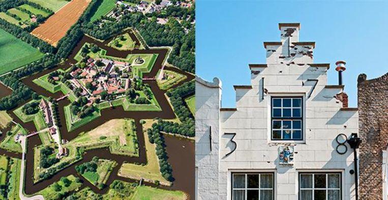Wandelen over de stadswallen: langs de 5 mooiste vestingwerken van Nederland Beeld Getty Images
