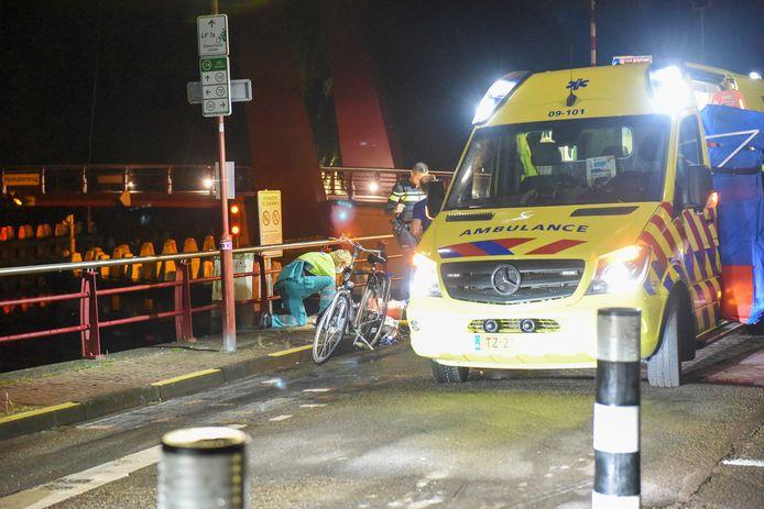 Een fietser in Nieuwegein is gewond geraakt bij een val.