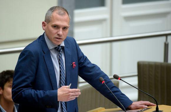 Vlaams minister van Wonen Matthias Diependaele (N-VA).
