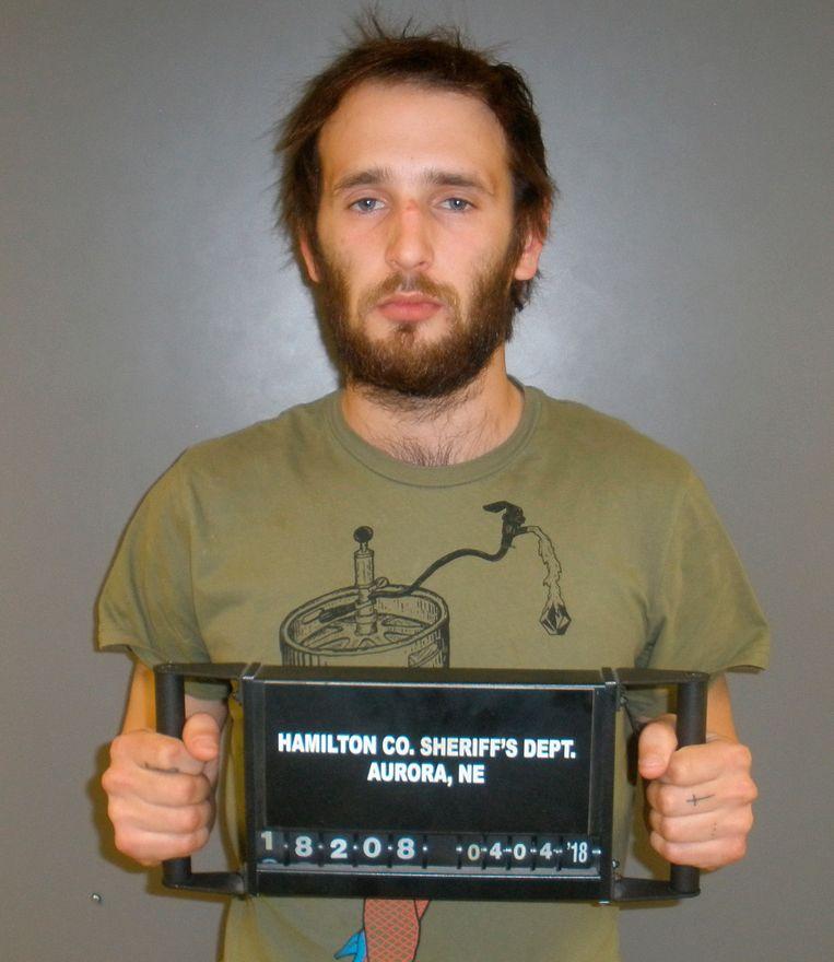 Hopper werd gearresteerd in Nebraska. Hij was in het bezig van verschillende verboden middelen.
