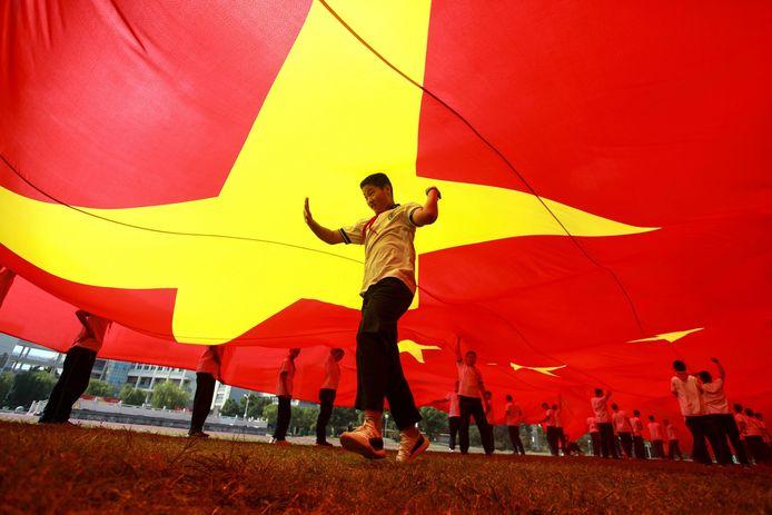 Ook in Yangzhou werd een jaar geleden het 70-jarig bestaan van de oprichting van de Volksrepubliek China gevierd.