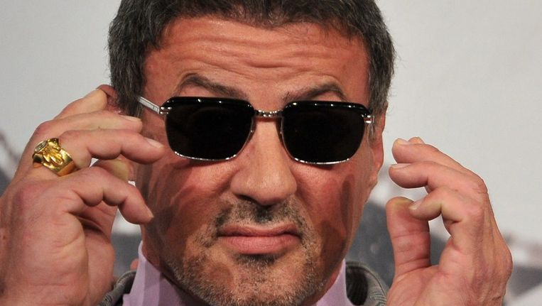 Sylvester Stallone. Beeld AFP