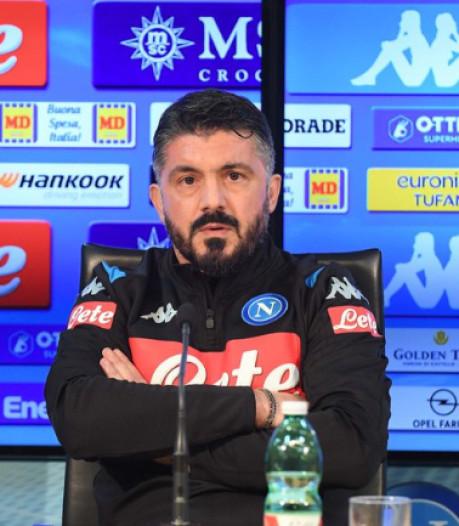 C'est officiel, Gattuso nouvel entraîneur de Dries Mertens à Naples à la place d'Ancelotti
