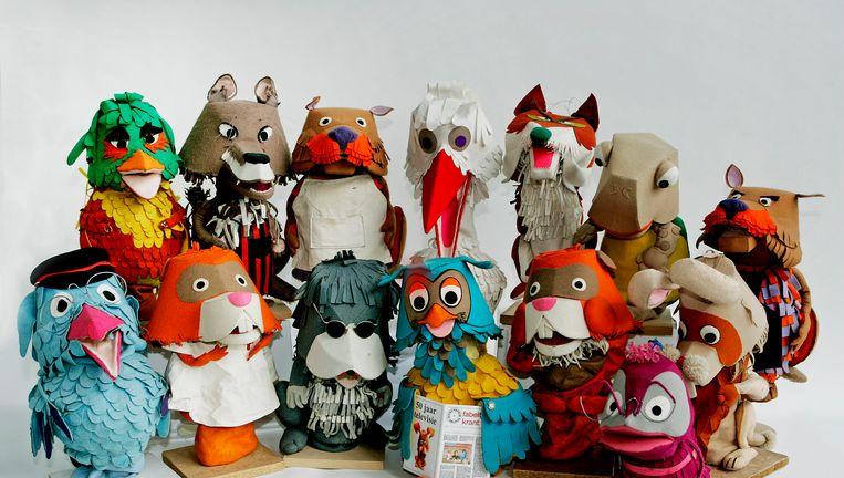 De originele poppen van De Fabeltjeskrant. Beeld anp