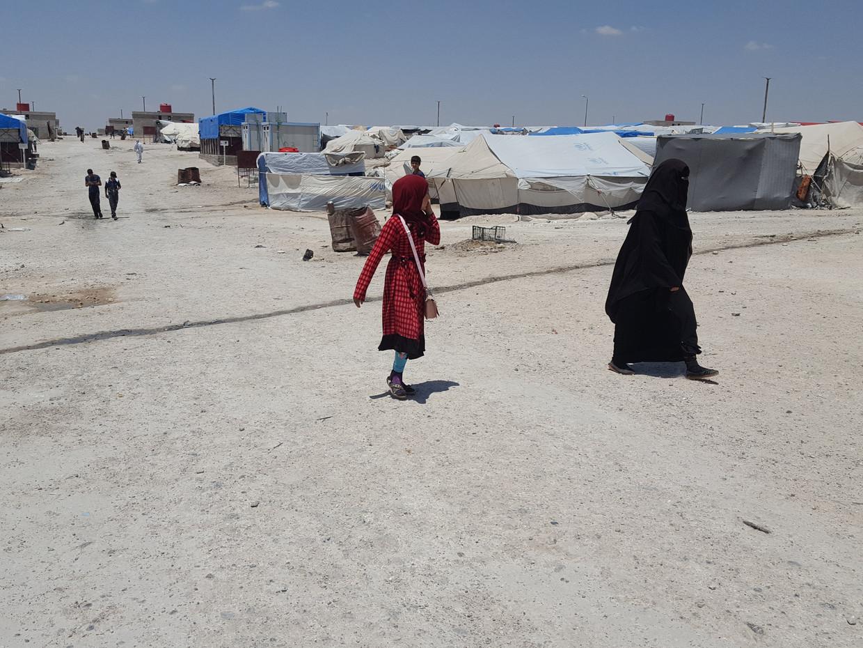 Ilham B. zat vast in het Syrische gevangenenkamp Ain Issa.