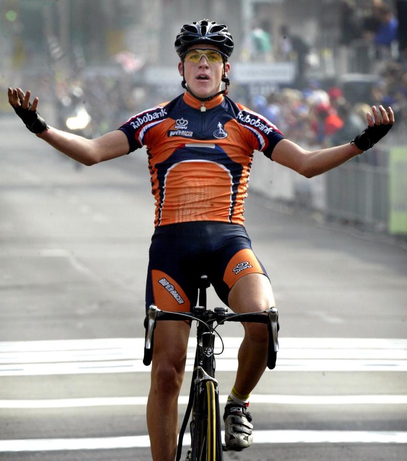 Kai Reus werd in 2004 wereldkampioen bij de junioren.