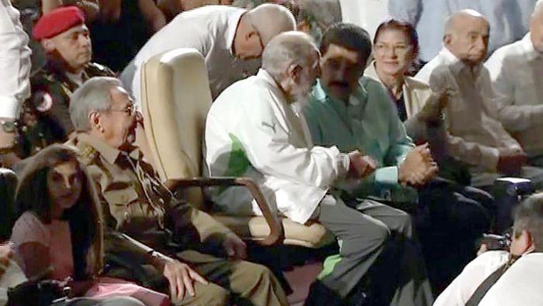 Fidel Castro Beeld afp