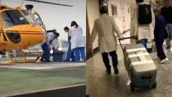 Patiënt die Covid-19 overleeft , krijgt nieuwe longen in Mexico