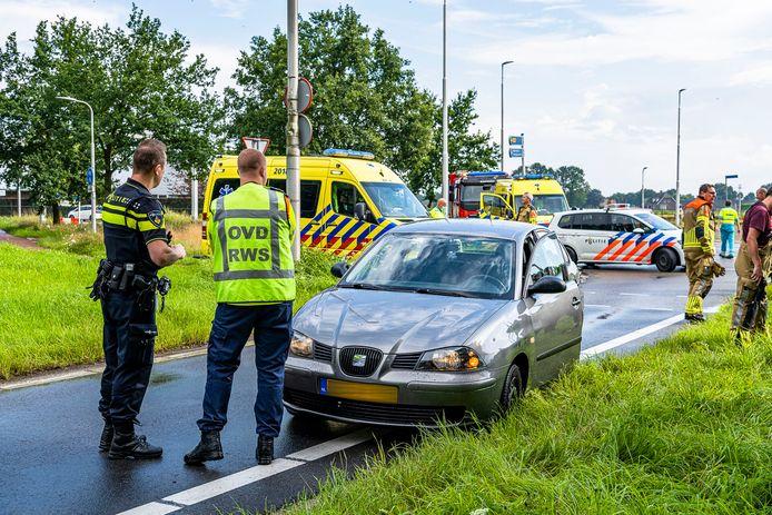 Fietser gewond bij aanrijding in Berkel-Enschot.