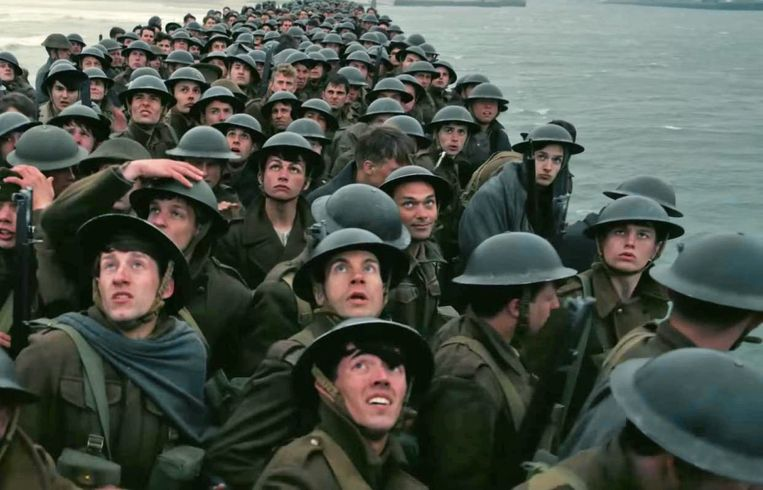 'Dunkirk' Beeld Humo
