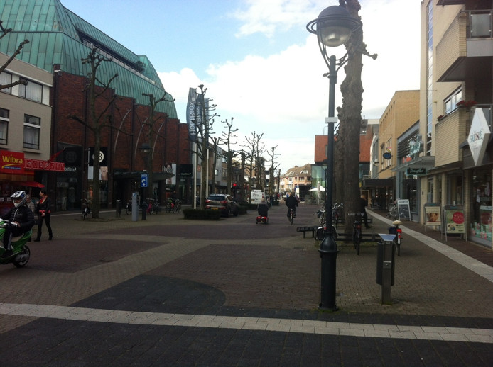 Vanaf volgend jaar moet de bezoeker van het winkelcentrum gaan merken dat Uden een smart city is.