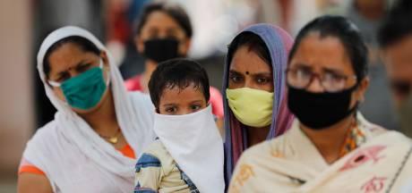 Coronavirus verspreidt zich in India nog sneller dan in de VS