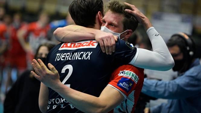 Roeselare pakt 12de titel, laatste van clubicoon: Tuerlinckx met lach en traan