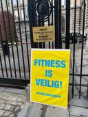 #FitnessOpenNow voert opnieuw actie overal ten lande.